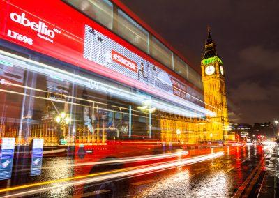 Big Ben y autobús de Londres
